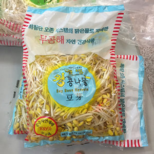 Good Seed Soy Bean Sprouts label