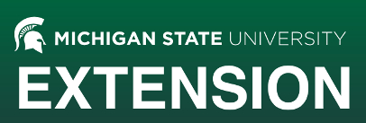Michigan State university Extension logo