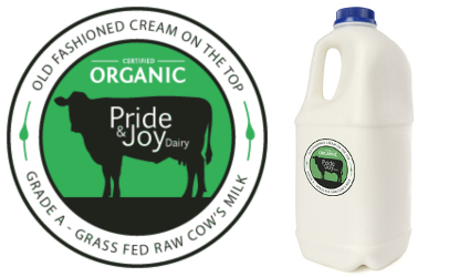 recalled Pride and Joy Dairy raw milk
