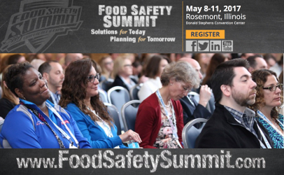 Food Safety Summit 2017 preview